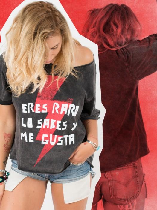 Camiseta Eres Raro Lo Sabes Y Me Gusta Woowlist